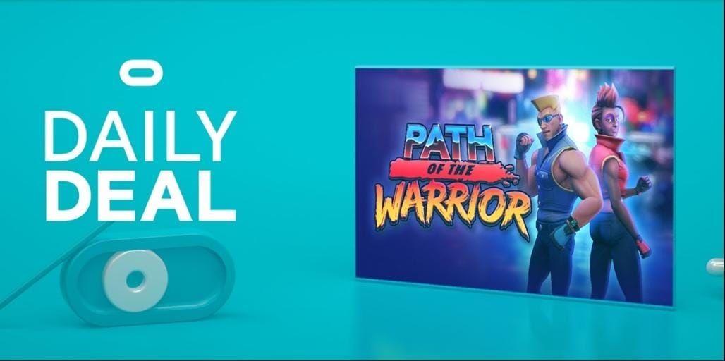 Path of the Warrior VR - 13,99 € - Crossbuy Game Oculus Rift/Quest 1 und Quest 2
