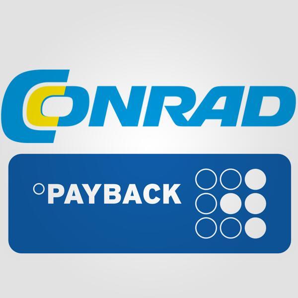 15-fach Payback Punkte bei Conrad über die Payback App - entspricht ca. 7,50% Ersparnis