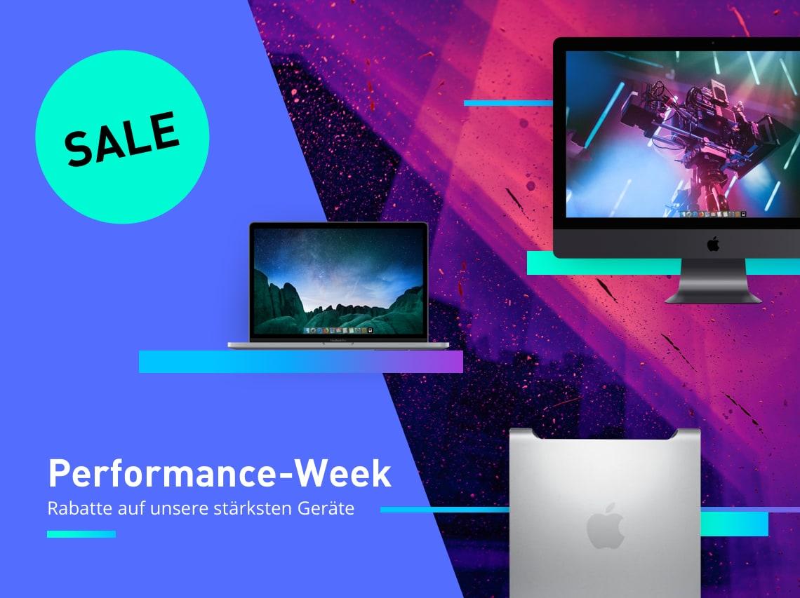 Maconline Performance-Week - Rabatte auf gebrauchte Apple iMac, MacBook Pro und Co.
