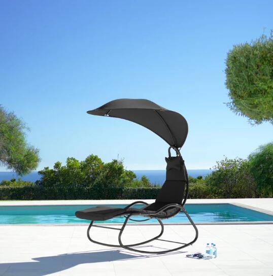 Garten-Relaxsessel Cori mit Sonnendach & Nackenkissen für 56€ inkl. Versand (Mömax)