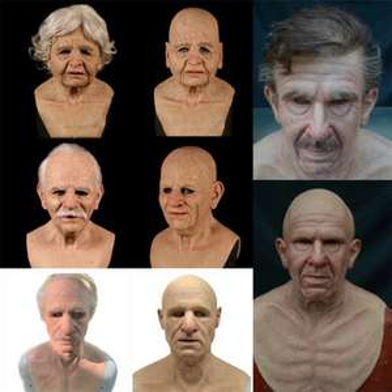 Halloween Silikon Masken verschiedene Charaktere Realistische Gruselige Latexmaske