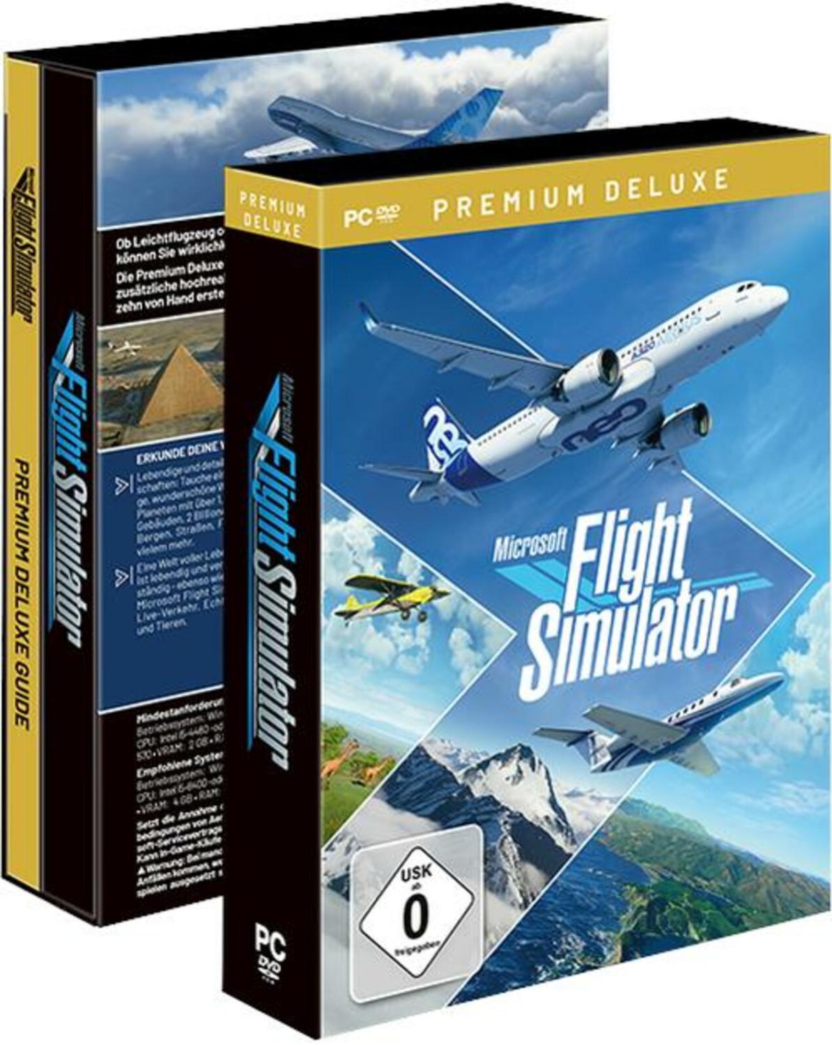 Microsoft Flight Simulator Premium Deluxe Edition | PC Code [Prime Day]