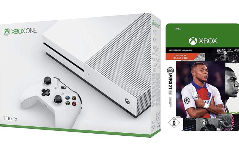 Xbox One S 1 TB + FIFA 21 Edition Champions