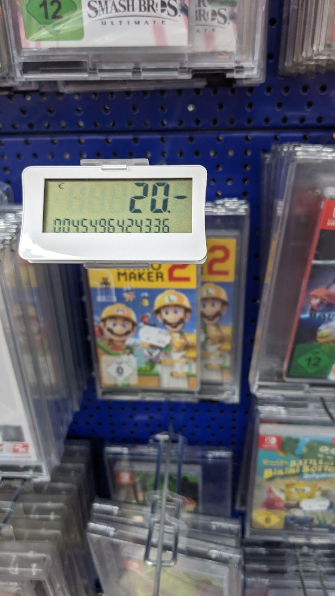 Lokal Saturn Hannover Super Mario Maker 2