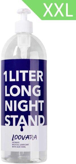 Loovara Gleitgel XXL Sensitiv (1000ml) mit Aloe Vera   kondomgeeignet, für sensible Haut, ph-optimiert, Wasserbasis (Amazon Prime Day)