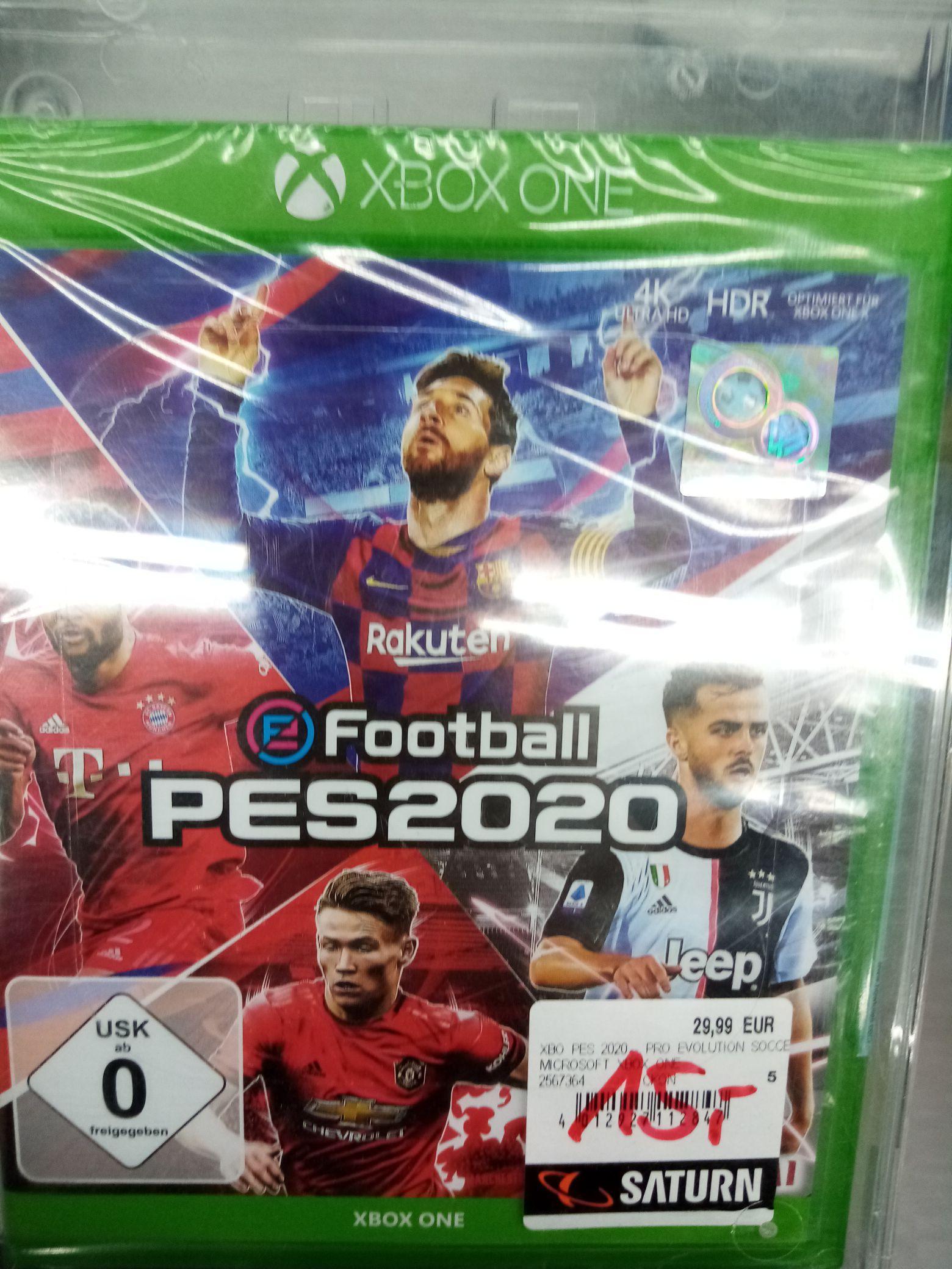 (LOKAL Saturn Neuss) Pro Evolution Soccer 2020 für Xbox one für 15€