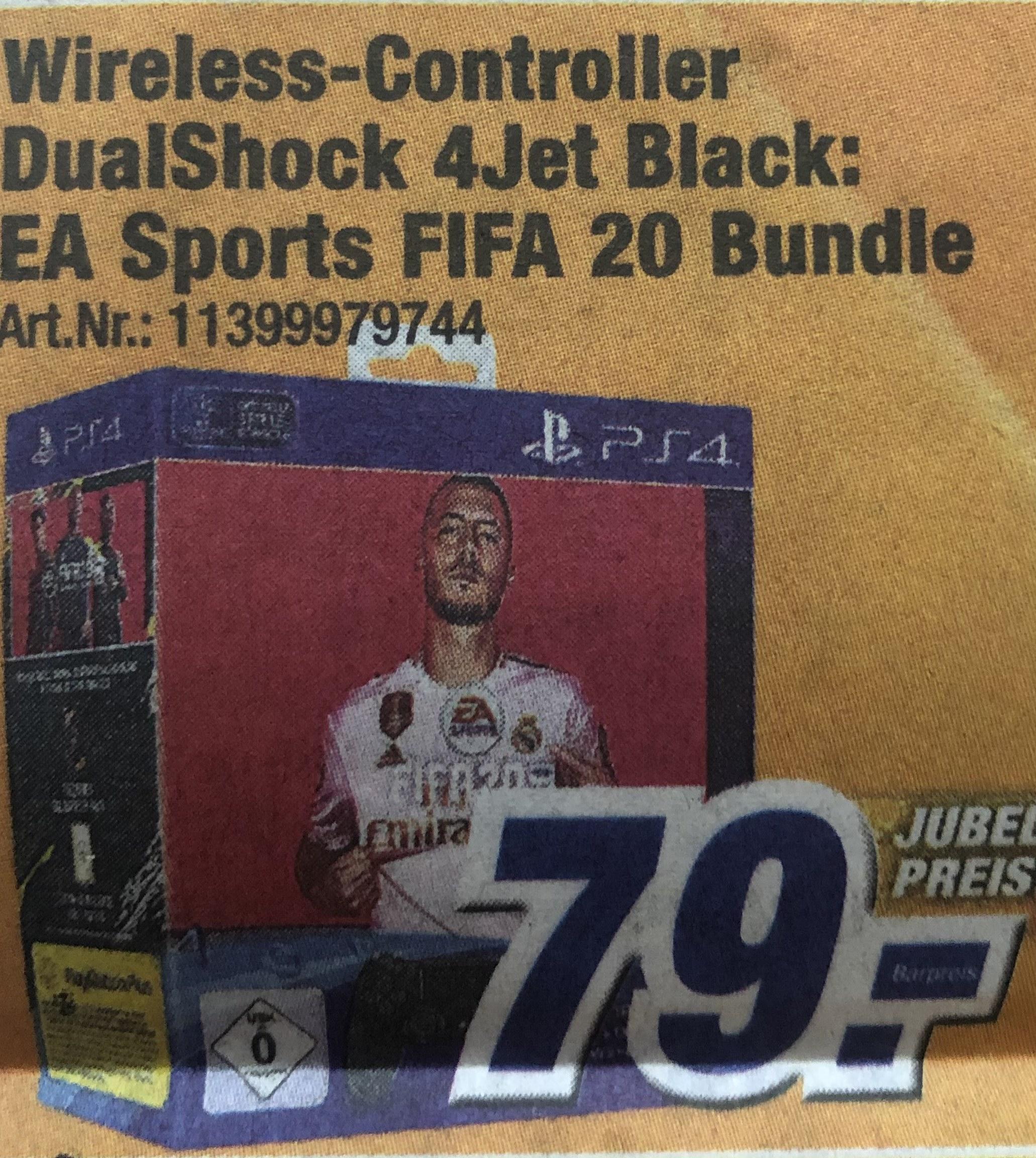 Regional München: PS4 FIFA 20 + DualShock 4 Controller