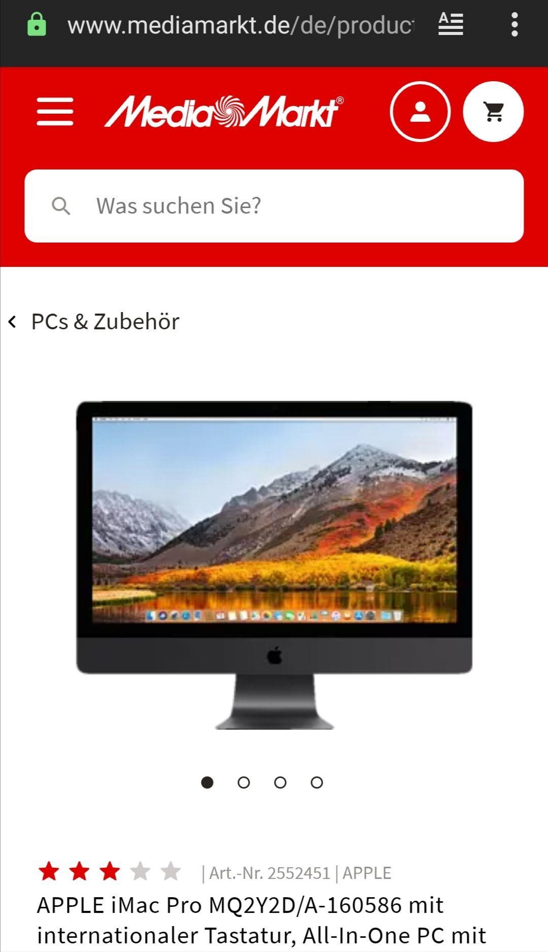 APPLE iMac Pro MQ2Y2D/A-160586