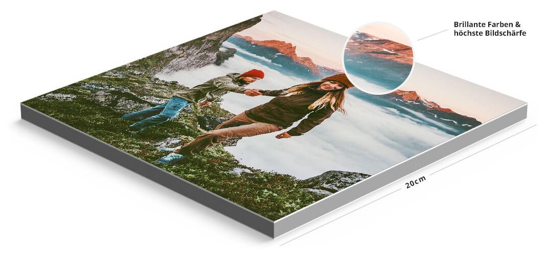 [MeinFoto] 12 MixPix | 20x20cm wechselbare Wandbilder