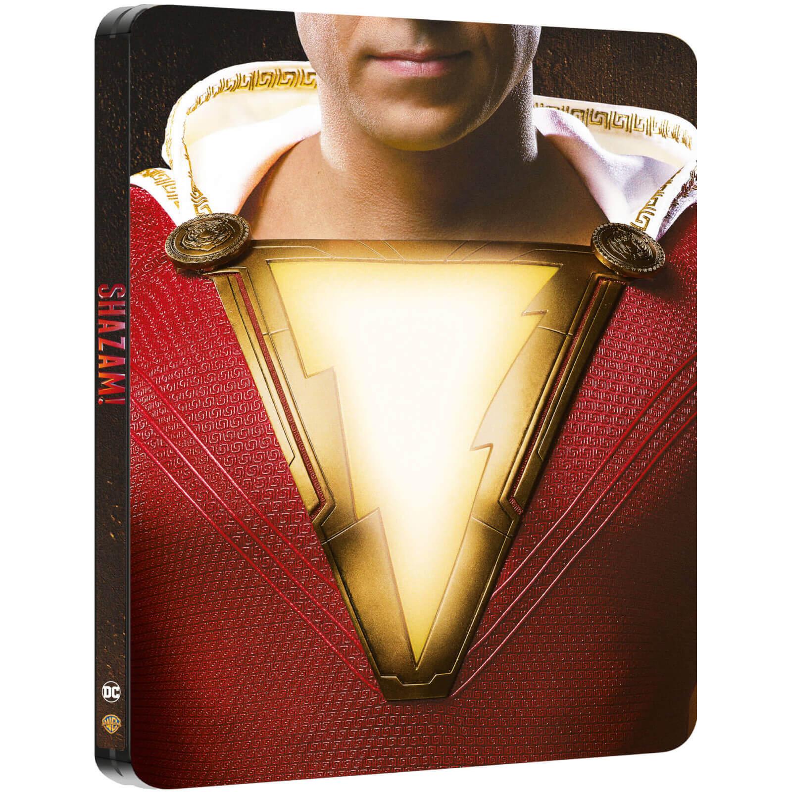 Shazam! - Steelbook Edition (4K Blu-ray + Blu-ray) für 15,99€ inkl. Versand (Zavvi UK)