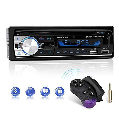 [Amazon Prime] Autoradio mit Bluetooth-Freisprecheinrichtung, CENXINY Auto Radio Empfänger, USB- oder AUX-Eingang