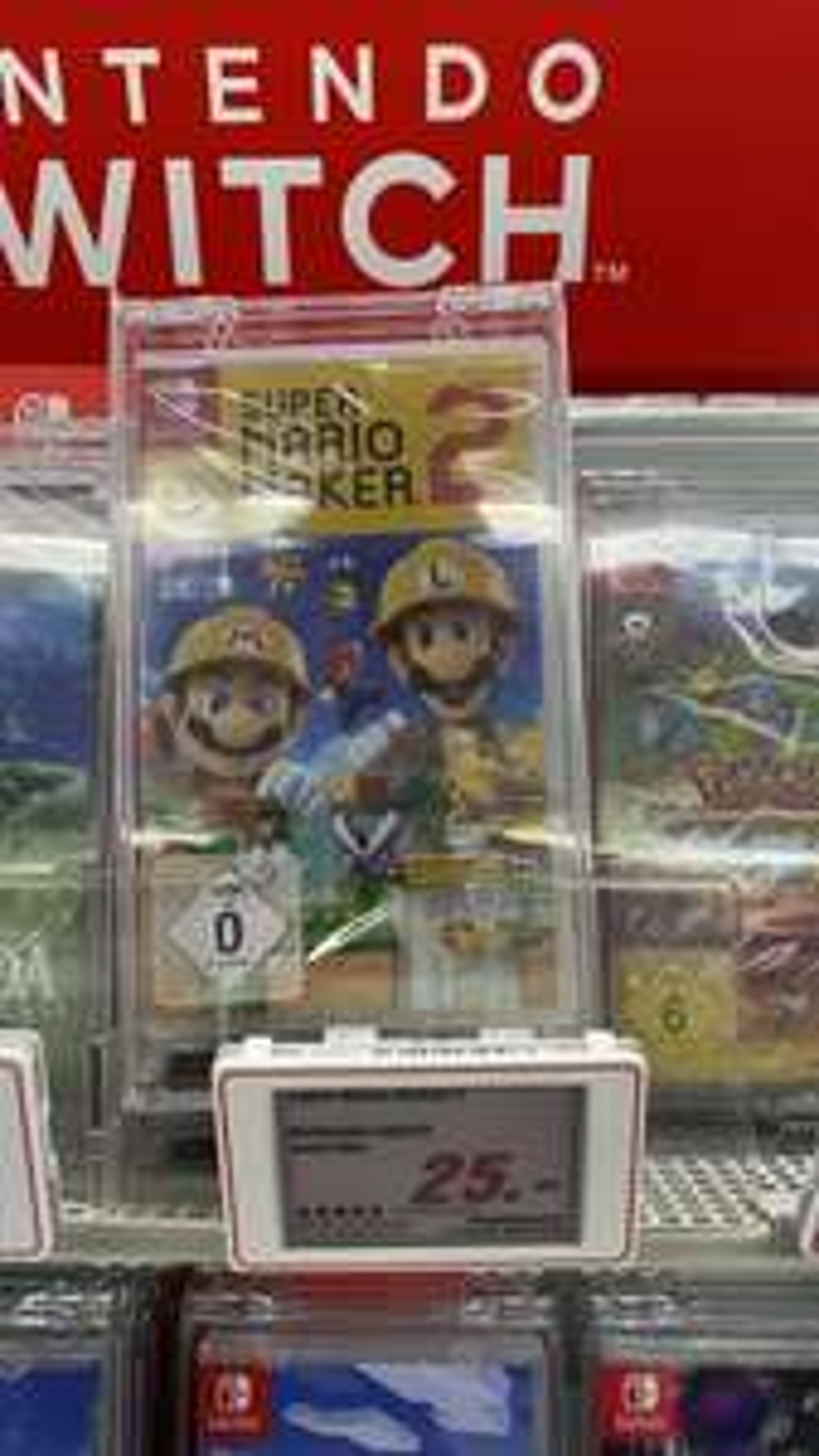 [lokal MM Sindelfingen] Super Mario Maker 2 Switch