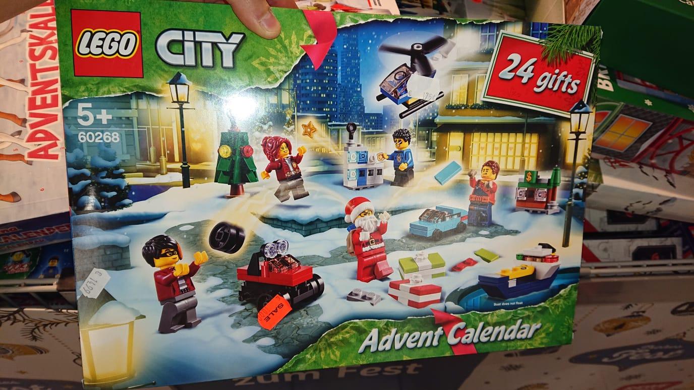 REWE Taunusstein (evtl Bundesweit) LEGO 60268 City Adventskalender 2020