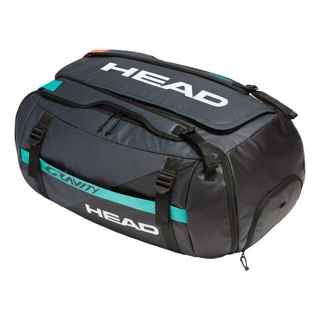 HEAD Gravity Duffle Bag Sporttasche / Tennistasche für 55€ statt 78€   HEAD Djokovic 9R Supercombi Schlägertasche für 50€ statt 60€