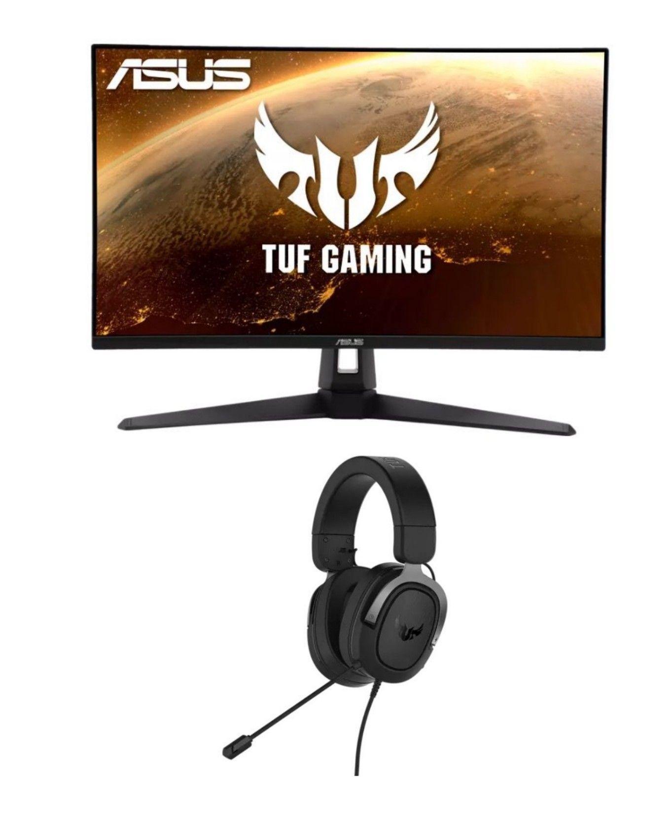 """Asus TUF Gaming 27"""" 165Hz VG279Q1A + Gaming H3 Headset + 10€ Cashback [Mediamarkt]"""