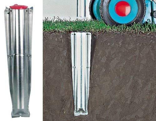 [Amazon Prime] Brabantia 311444 Bodenanker für Wäschespinne 45 mm aus Metall