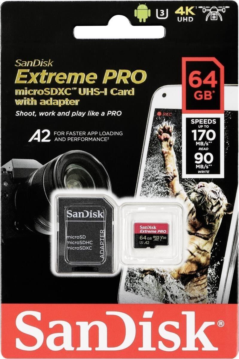Speicherwoche [KW45] - Tag 3: z.B. SanDisk Extreme PRO microSDXC 64GB - 13,16€   Intenso Top Performance SSD 256GB - 22,50€