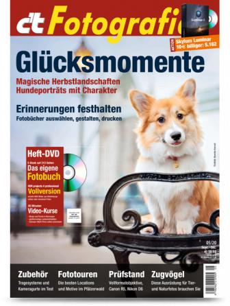 """c't Digitale Fotografie (2 Ausgaben) mit 10€ Amazon-Gutschein + Sonderheft """"c't Digitale Fotografie Spezial Meisterklasse 2019"""" für 14,60 €"""