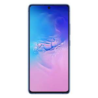 """Samsung Galaxy S10 Lite 8/128GB Blau und Weiß (6,7"""" FHD+ AMOLED, 186g, SD855, Dual-SIM, NFC, 4500mAh, 45W)   Note 10 Aura Glow 516,78€"""