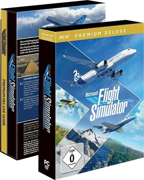 Flight Simulator 2020 Premium Deluxe Edition (PC, DVD; 84,99€ für Neukunden)