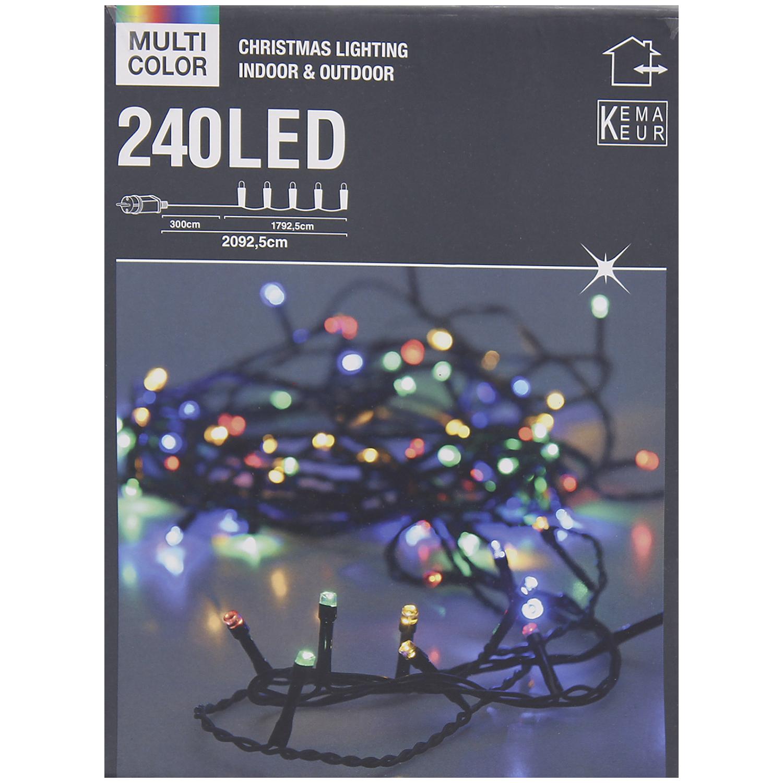[ Action ] Multi Color 240 LED- Lichterkette Weihnachtsbeleuchtung 20,9m