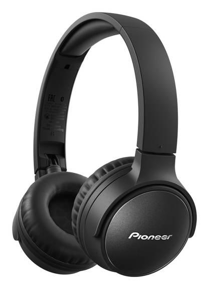 Pioneer SE-S6BN Wireless On-Ear Kopfhörer mit Noise-Cancelling / 20 Stunden Laufzeit / Schnellladefunktion (10min = 3h)