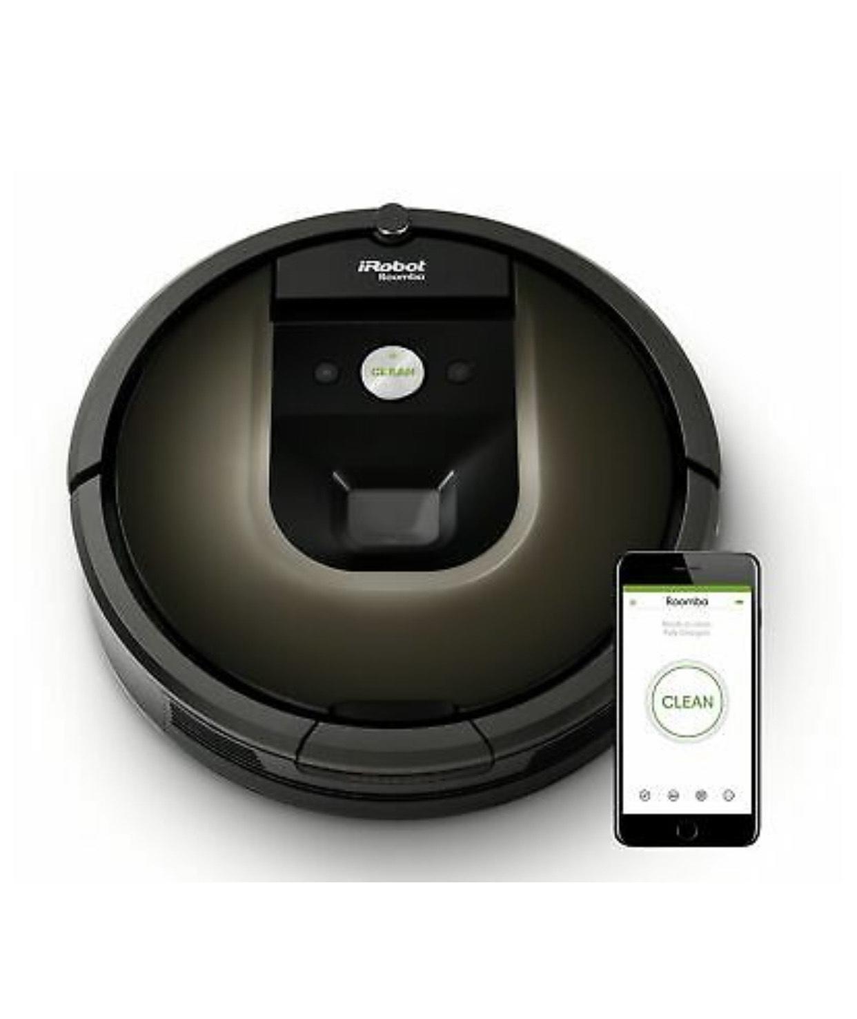 iRobot Roomba 980 Saugroboter generalüberholt Teppich-Turbomodus Roboter Wlan