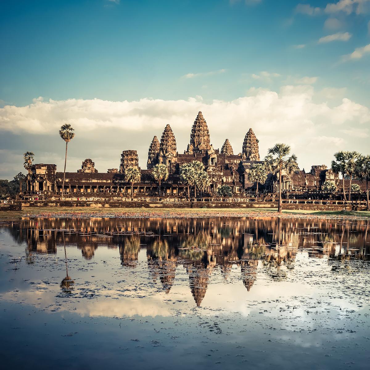 Siem Reap, Kambodscha: Doppelzimmer im 5* Grand Venus La Residence / bis September 2021 / gratis Storno