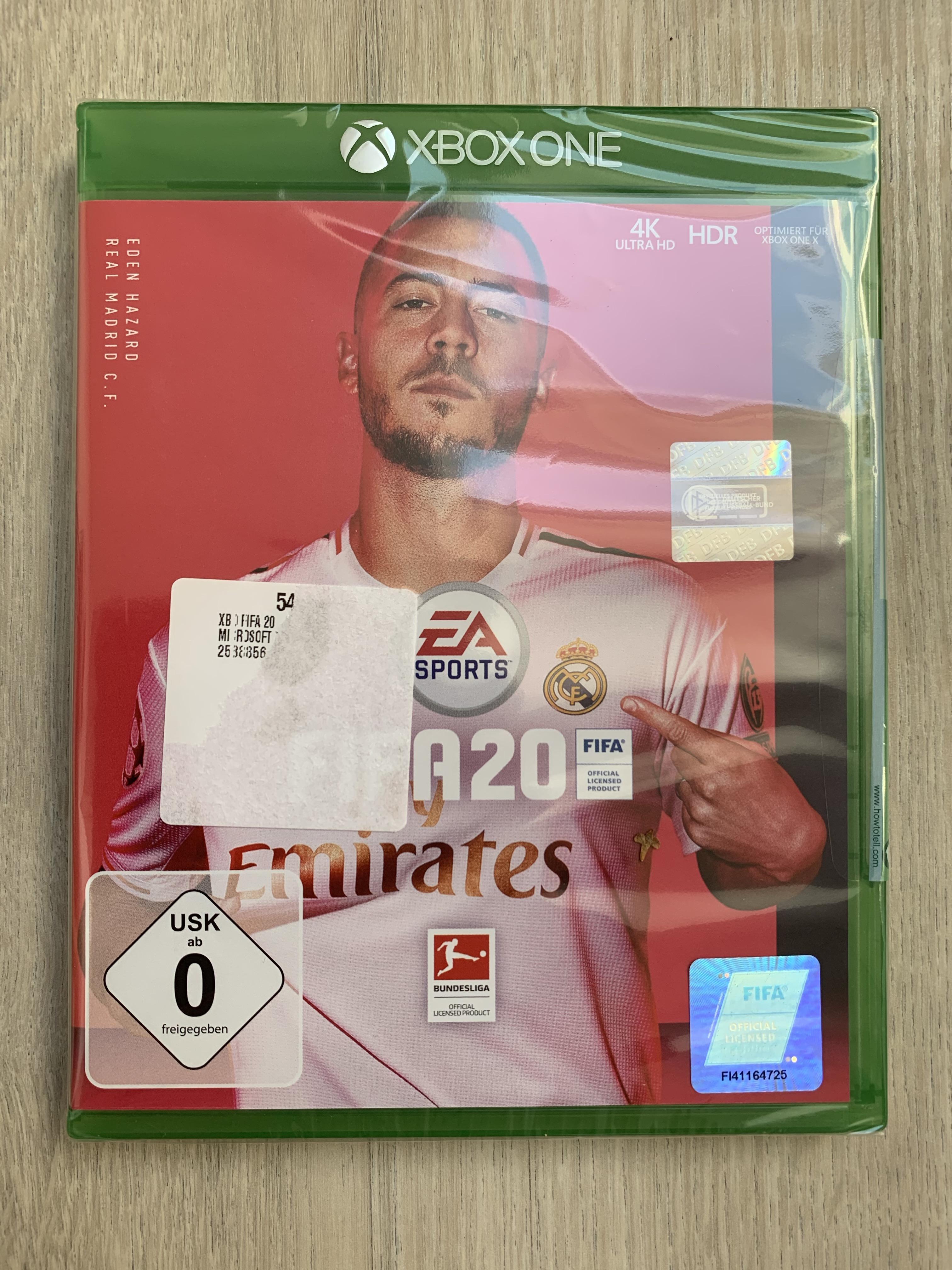 """(Lokal Saturn Wuppertal) Xbox One Spiele """"Fifa 20"""" und """"Baldurs Gate Bundle"""" für 4,87 € und The Outer Worlds für 8,77 €"""