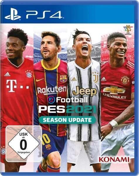eFootball PES2021 Season Update [PS4] (PES2020 mit aktualisierten Spieler- und Vereinsdaten)