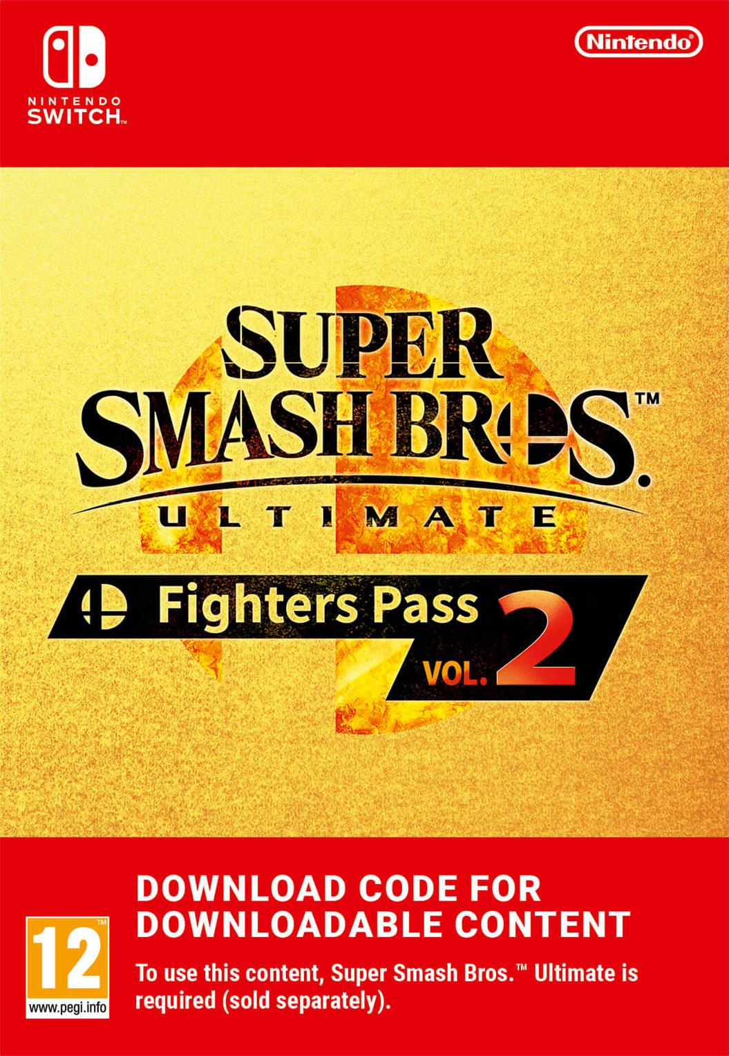 [ebay] Super Smash Bros Ultimate - Fighters Pass Vol. 2 (Nintendo Switch) (personalisiert, Zahlung mit Kreditkarte notwendig)