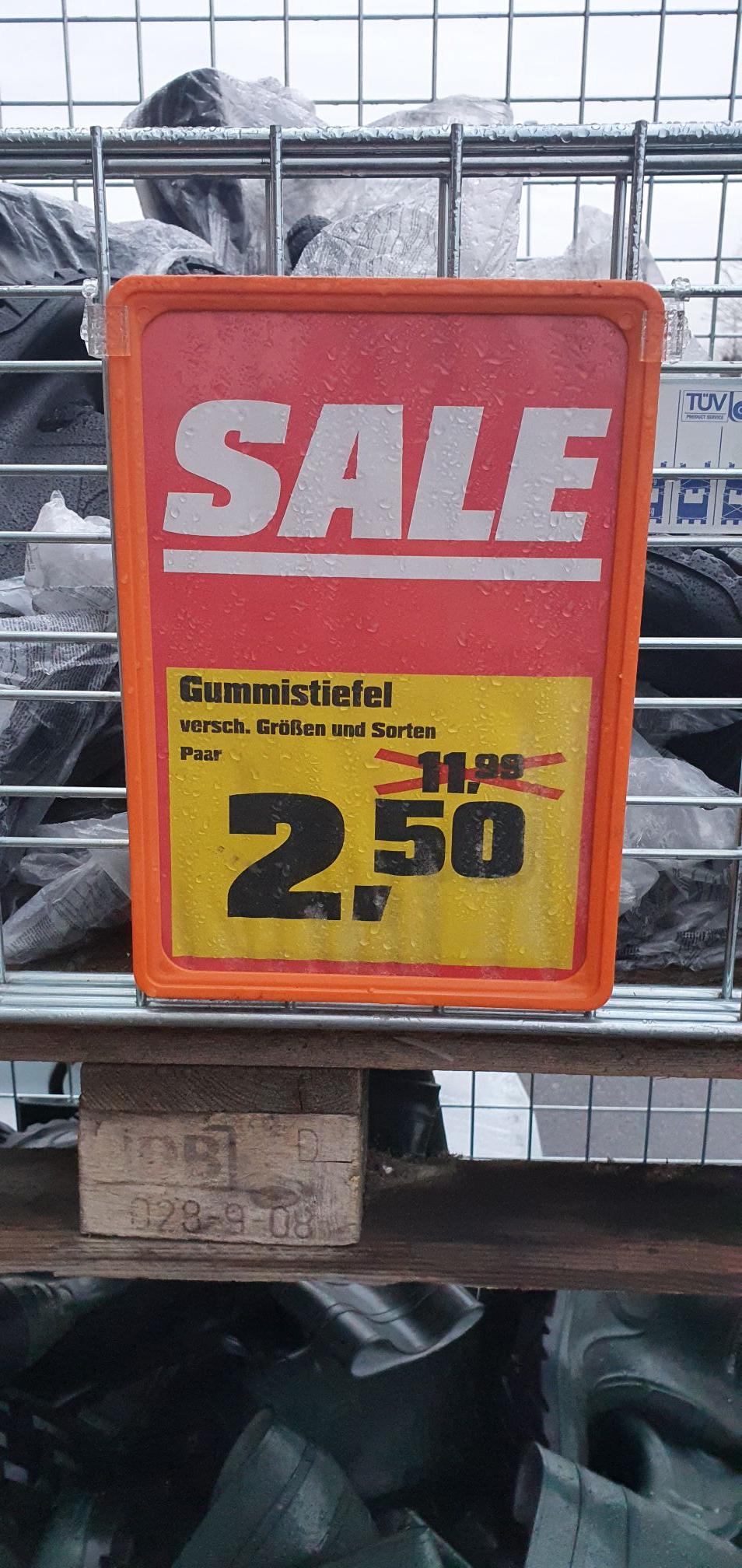 [OBI Leipzig] 1 Paar Gummistiefel für 2,50€