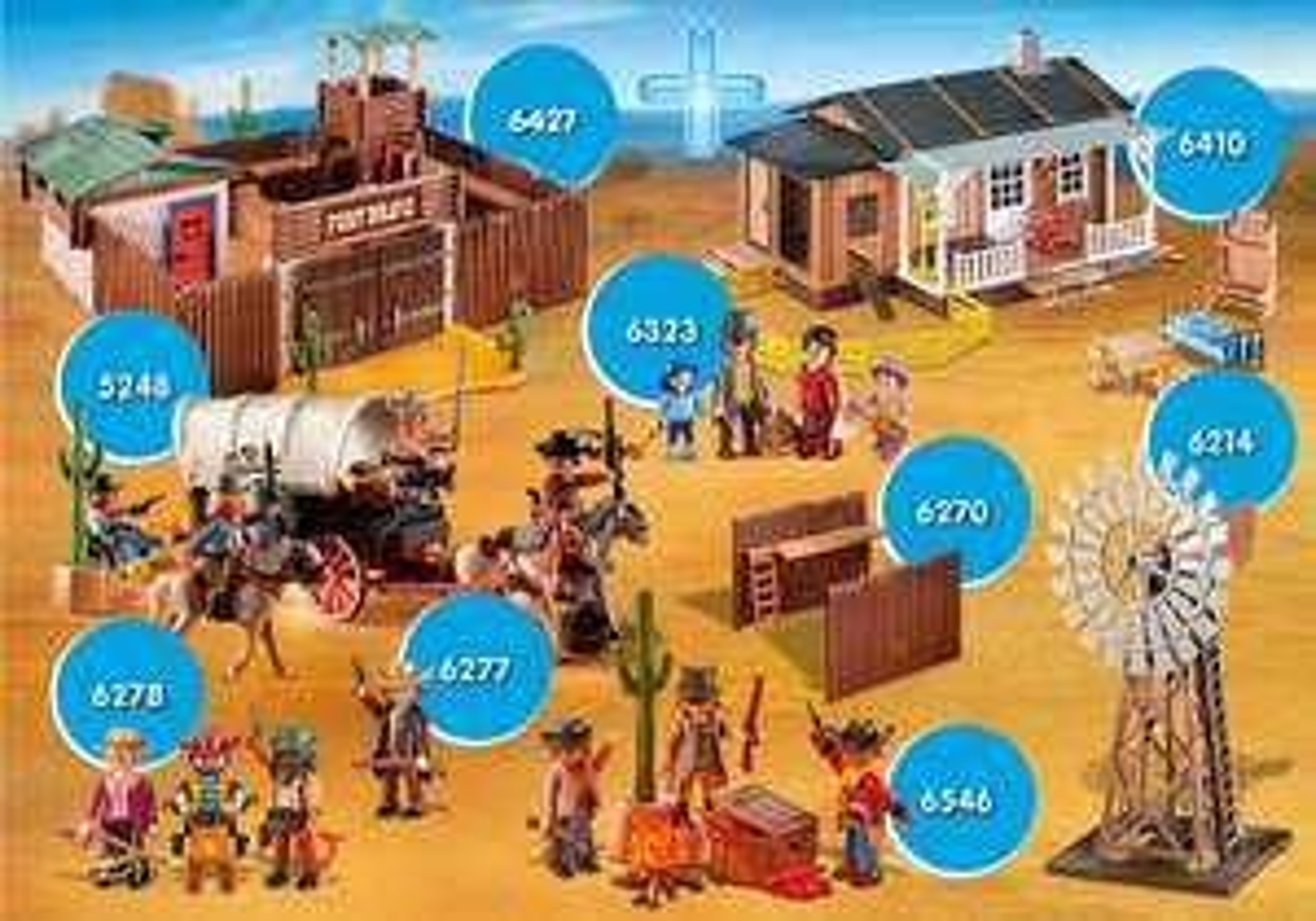 Playmobil XXL-Bundle Western Sagenhafter Preis + 1 Give Away