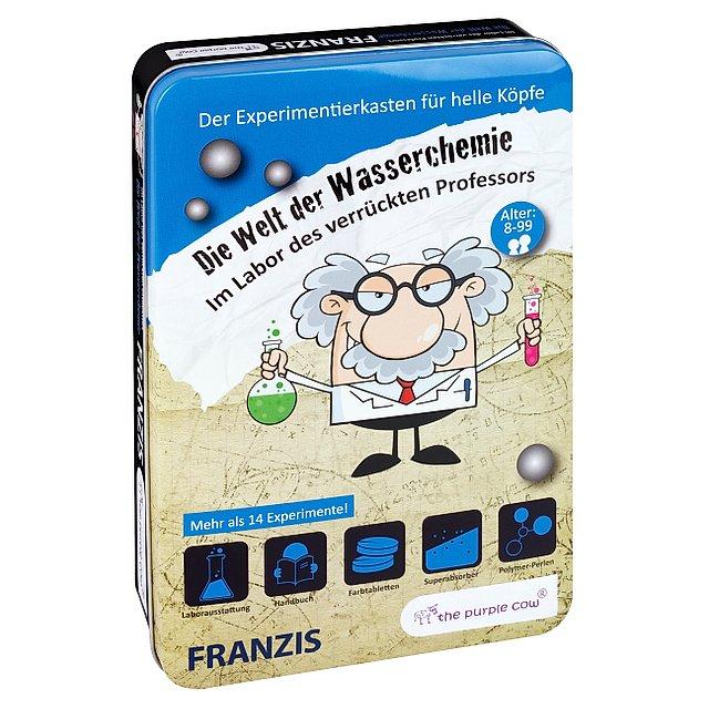 Im Labor des verrückten Professors: Die Welt der Wasserchemie: Experimentierkästen für helle Köpfe ab 8 Jahre