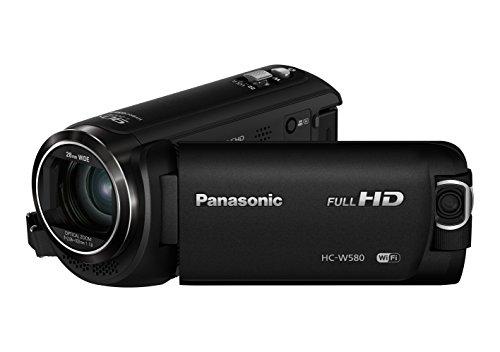 [Amazon.it] Panasonic HC-W580EG-K Full HD Camcorder (Full HD, 50x opt. Zoom, 2,2 MP BSI Sensor, 28 mm Weitwinkel, 5-Achsen Bildstabilisator)
