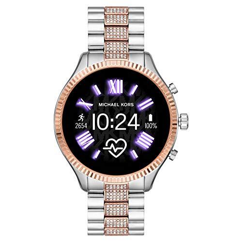 [Amazon.es] Michael Kors Access Smartwatch Gen 5 Lexington mit Wear OS by Google mit Lautsprecher, Herzfrequenzmesser, GPS, NFC