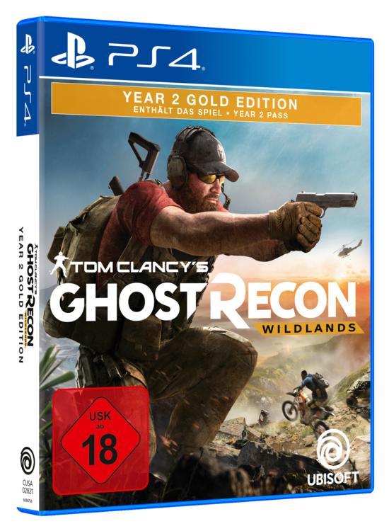 Tom Clancy's Ghost Recon Wildlands Year 2 Gold Edition Ps4 Playstation 4 (Abholung 9,69€ oder mit Versand 14,69€)