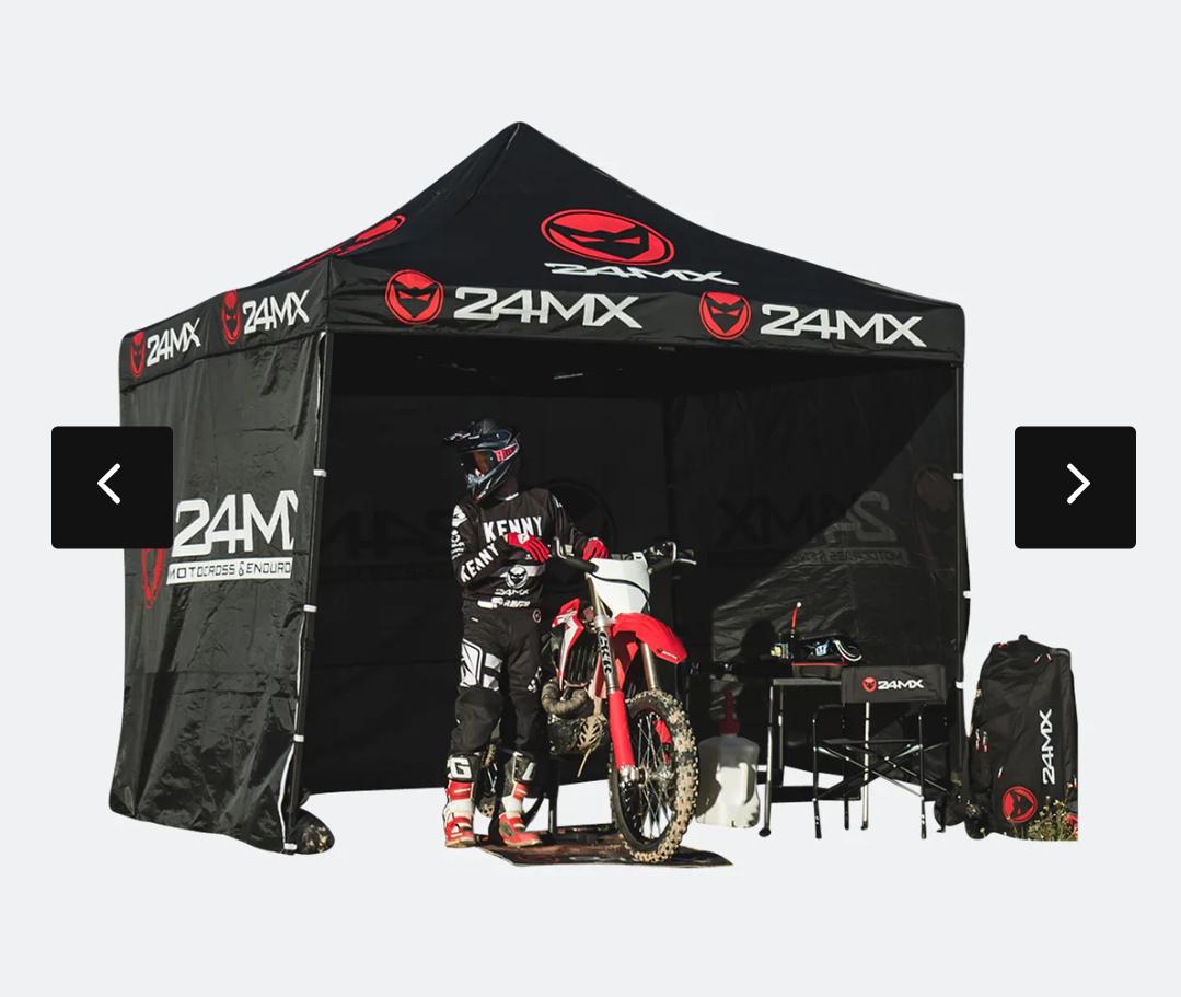 MX24 Rennzelt 3x3m Zelt, Pavillion mit 3 Wänden (jetzt noch bessere Qualität?)