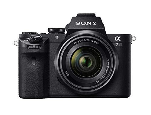 [Amazon.it] Sony Alpha 7 II   Spiegellose Vollformat-Kamera mit Sony 28-70 mm f/3.5-5.6 Zoom-Objektiv (24,3 Megapixel, Hybrid-Autofokus)