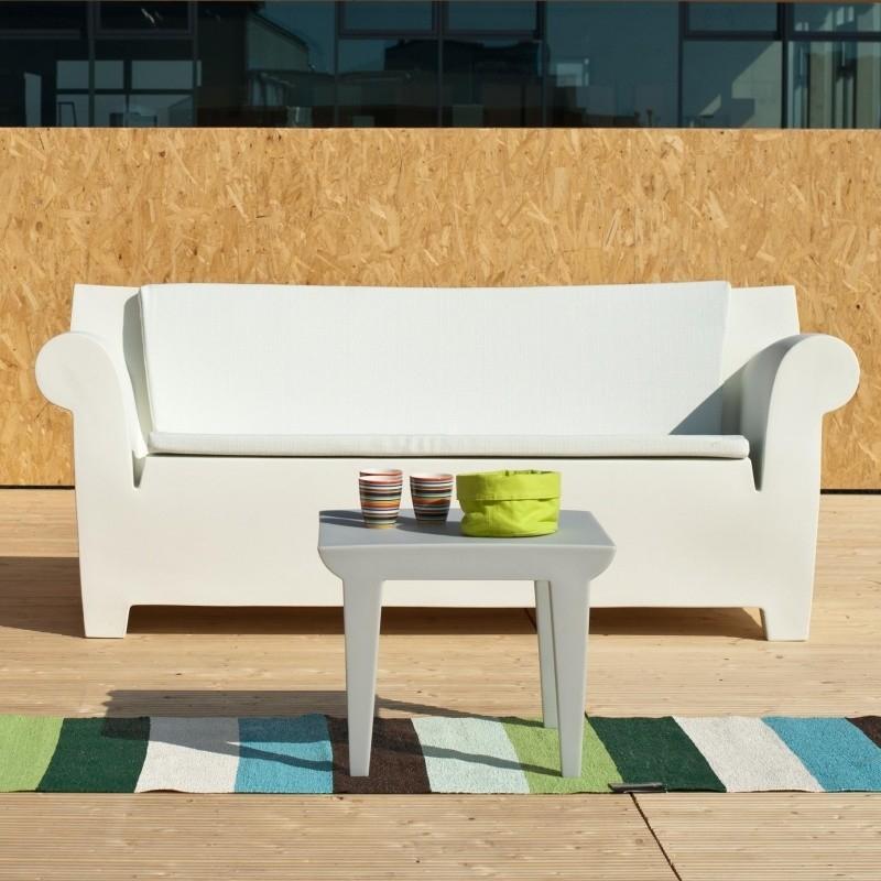 Kartell Bubble Club Beistelltisch für Terrasse oder Balkon