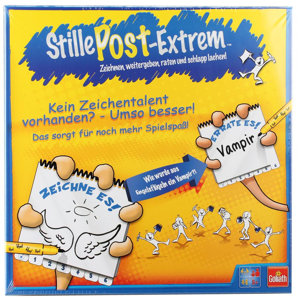 """Gesellschaftsspiel """"Stille Post Extrem"""""""