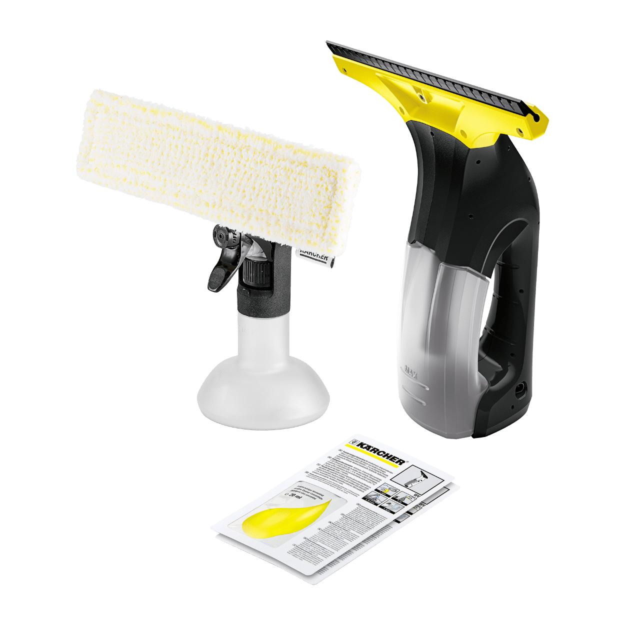 ALDI Kärcher Fenstersauger mit Sprühflasche/Wischer