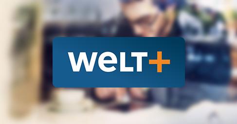 WELTplus oder WELTplus Premium 50% Rabatt in den ersten 12 Monaten, monatlich kündbar (Neukunden)