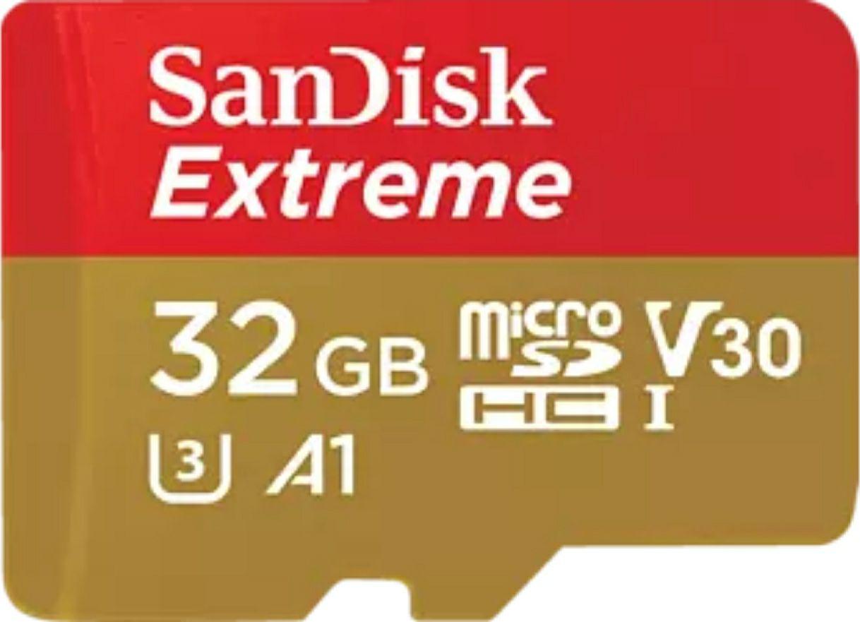 SANDISK Extreme, Micro-SDHC Speicherkarte, 32 GB, 100 MB/s 8,99€ oder Sandisk Pro 10,99 € bei Abholung