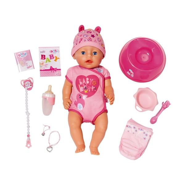 Baby Born Soft Touch Girl mit Gratis Wickeltasche