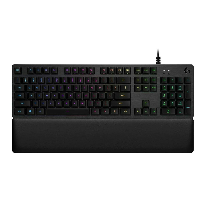 (Amazon) Logitech G513 Tastatur, mechanisch, GX-Red Linear, GX-Brown Switches, RGB, mit Handballenauflage