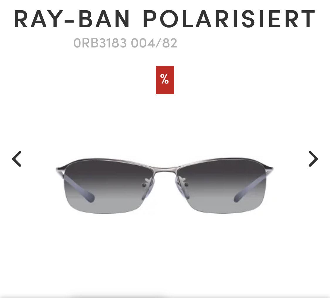 Ray Ban Sonnenbrille Top Bar