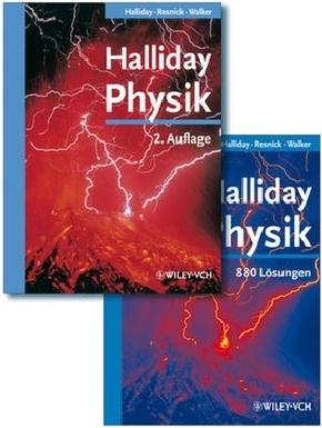 Halliday Physik deLuxe Lehrbuch + Lösungsbuch (2 Bücher) 1700 Seiten für 44,99 Euro [terrashop]