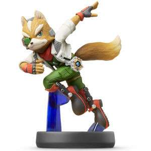 Super Smash BROS - Amiibo: Fox (Nr. 6)