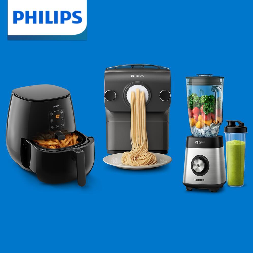 [Prime] Philips Cyber Monday Angebote auf Amazon aus dem Bereich Haushaltsgeräte: zB Philips Standmixer HR3573/90 (1000 Watt) für 67,99€